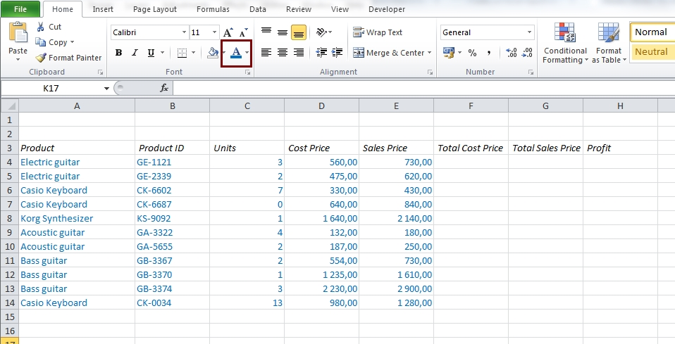 EasyExcel_10_Get started with Excel_2