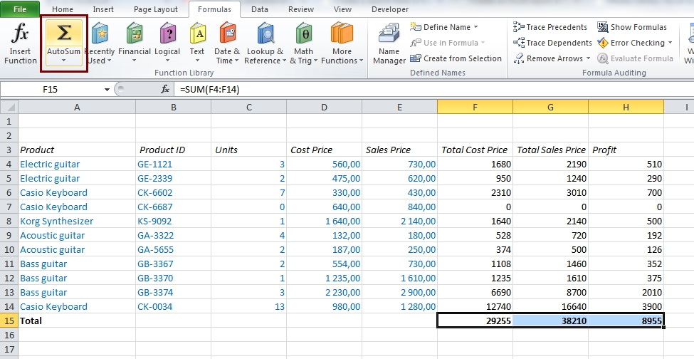 EasyExcel_10_Get started with Excel_4