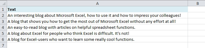 EasyExcel_21_1_Count Characters in Excel