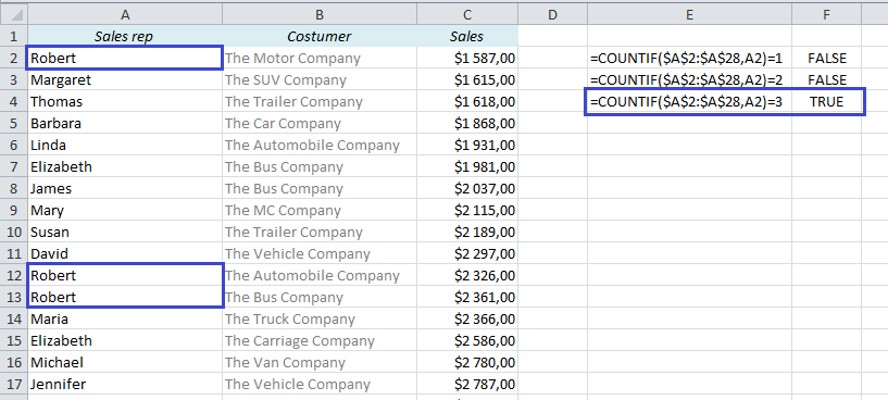 EasyExcel_23_2_Find Duplicates in Excel